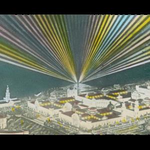 Scintillator-Panorama-1913-Birdseye-Night-Ackley-Lantern-Slide-1-Sm