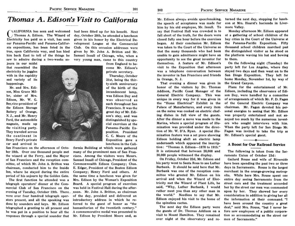Pacific Service Magazine, Volume 7