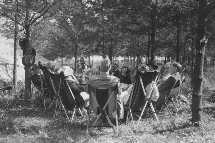 Camping with Guests, 1923