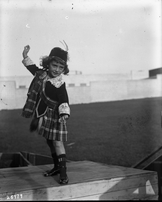 Local Girl Performing a Scottish Dance, 1915 Cardinell-Vincent Company | Special Collections, University of California Library, Davis