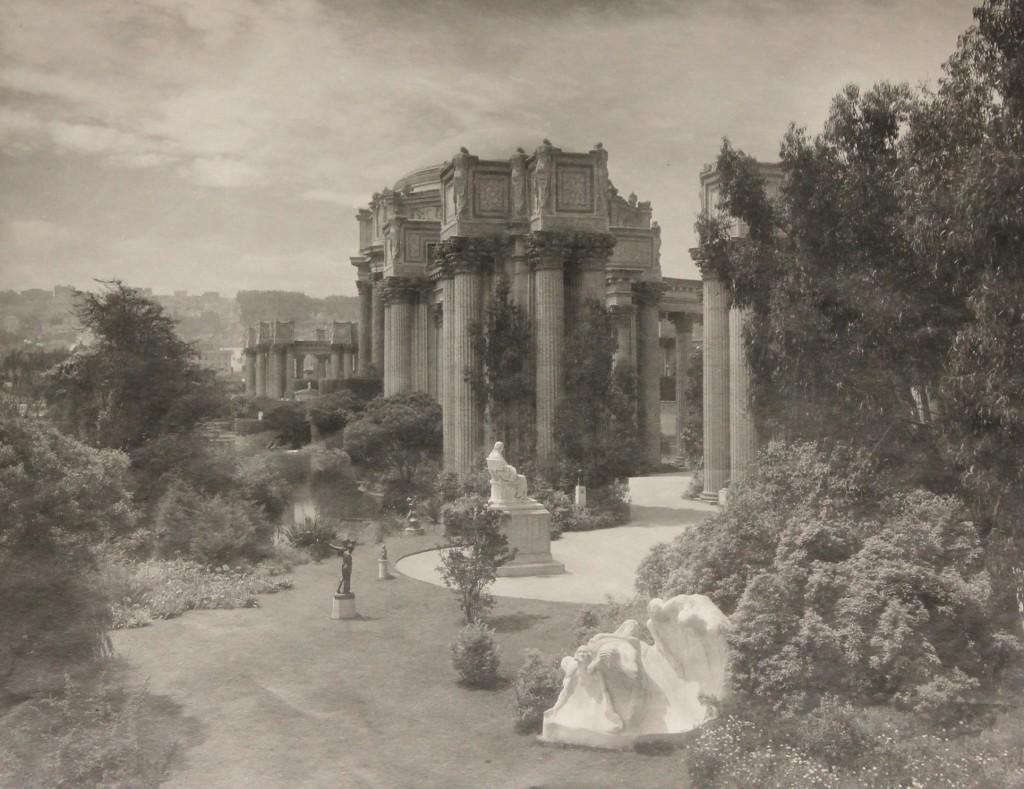 Palace of Fine Arts, 1915; California Historical Society, CHS2014.1557