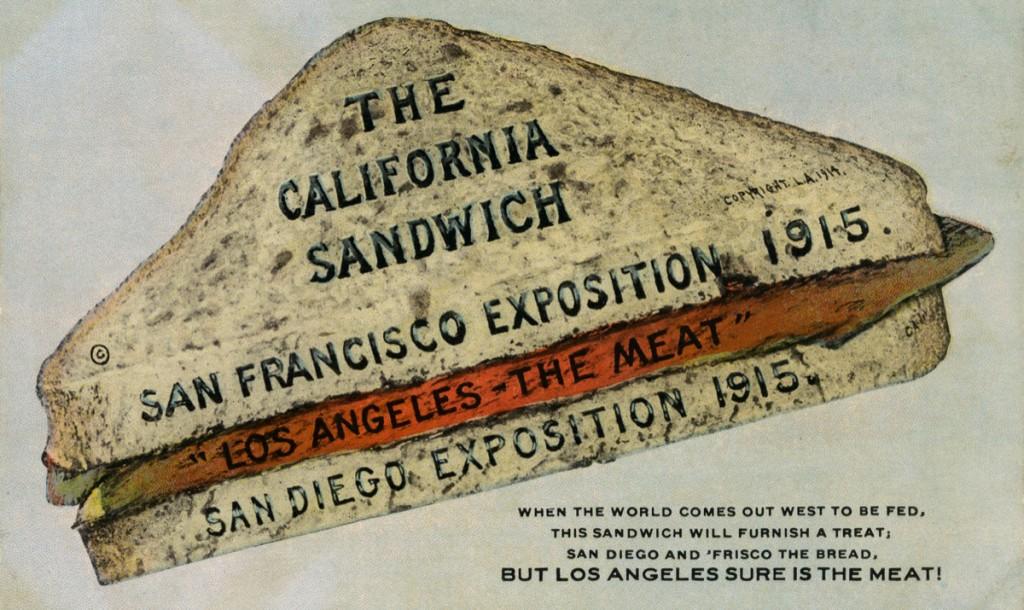 """The California Sandwich,"" 1915 San Diego History Center"
