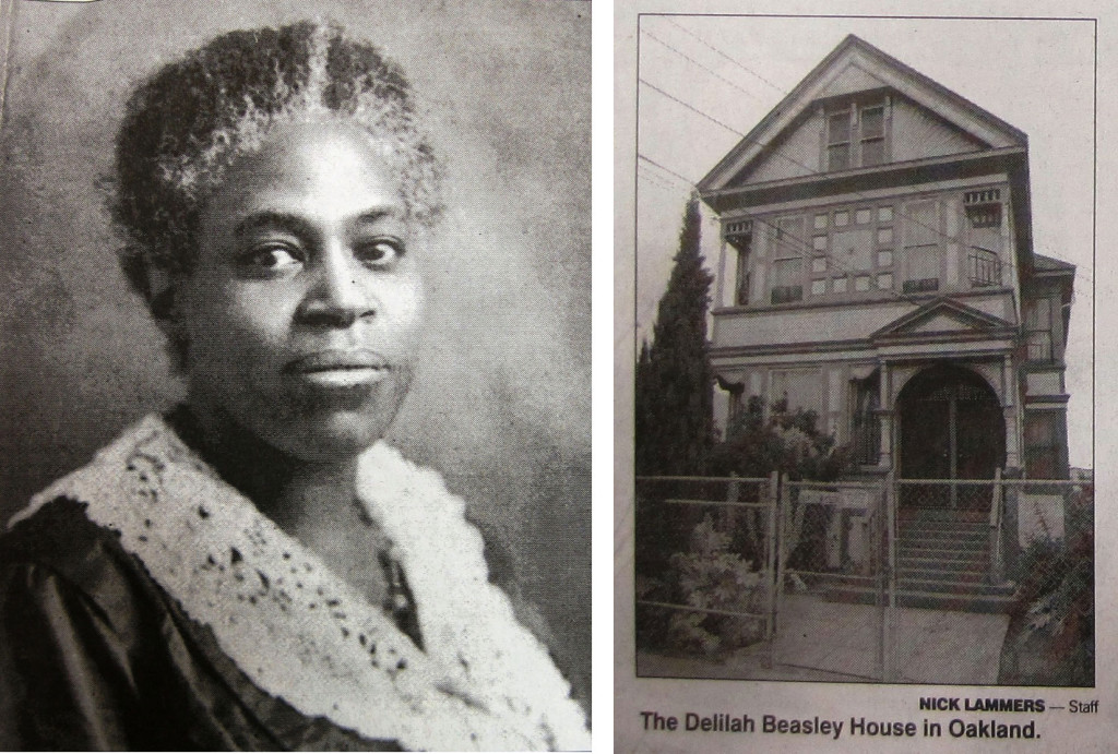 """The Oakland Tribune paid tribute to Beasley in its 1999 article """"East Bay Faces of the Twentieth Century: Delilah Beasley Broke Ground as Journalist, Historian""""; African American Museum and Library of Oakland"""